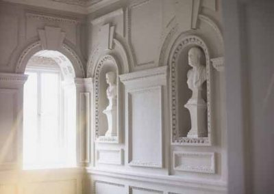 Upper Hall Busts at Gloster House