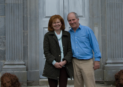 Gloster House Owners Tom and Mary Alexander
