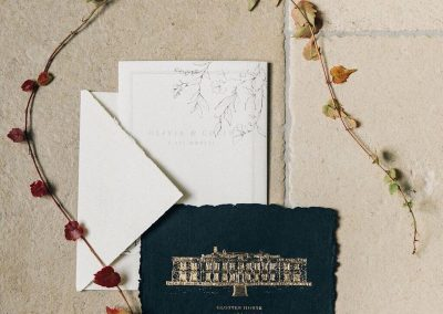 Gloster House Wedding Invitation