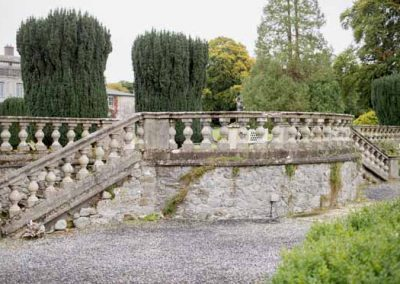 Outdoor Steps, Gloster House, Offaly, Ireland