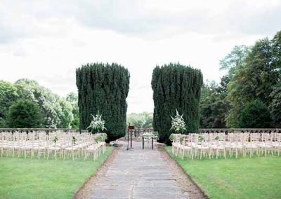 Outdoor Ceremony - Gloster House