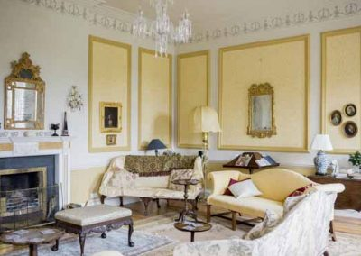 Yellow Drawing Room Gloster House