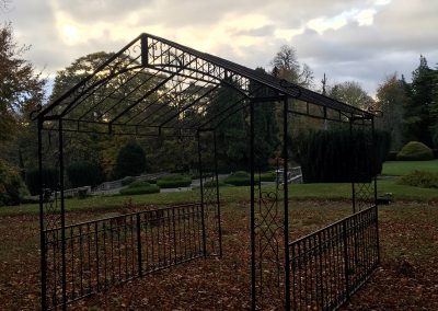 Metal Arch Gloster House